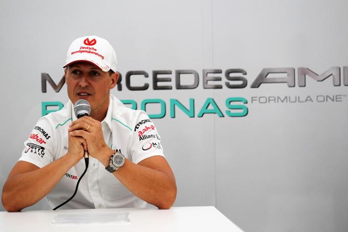 """Schumacher: """"Avevo opzioni per restare in F1"""""""