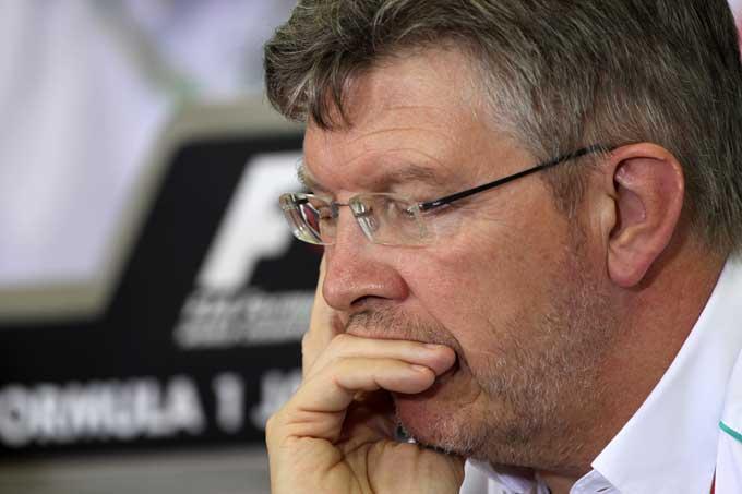 """Brawn: """"Concentrare gli sforzi sul DRS un errore per la Mercedes"""""""