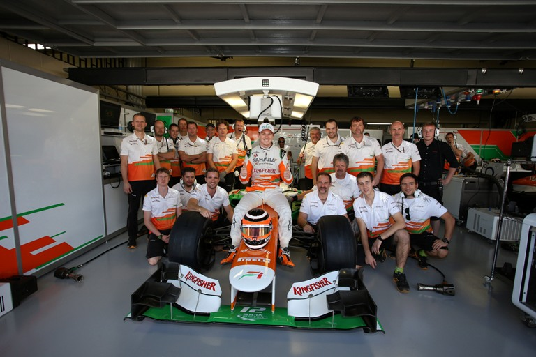 "Force India, ""La Safety Car in Brasile? Uno scherzo"""