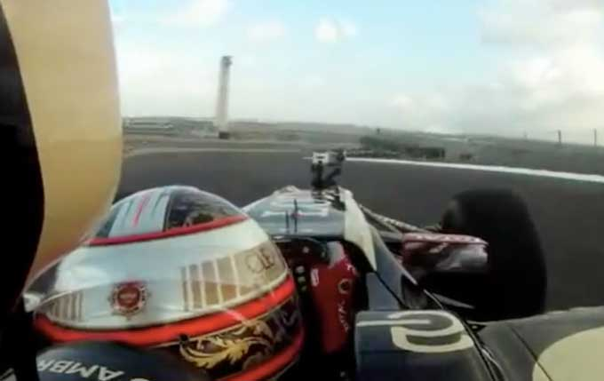 GP USA, Austin: video onboard con Jerome d'Ambrosio