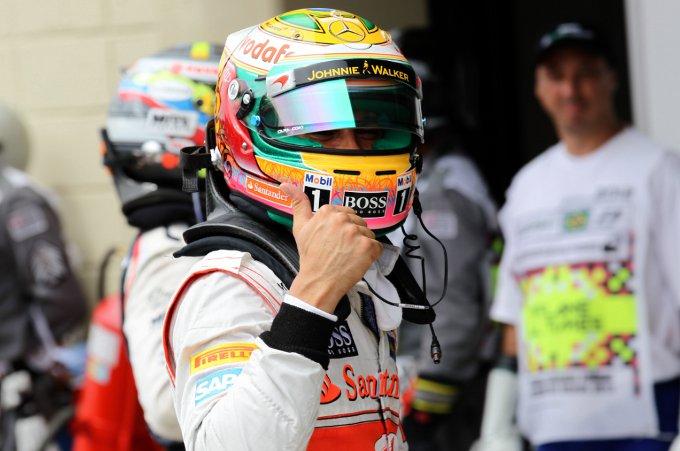 """McLaren, Hamilton: """"La gara di domani sarà una lotteria"""""""
