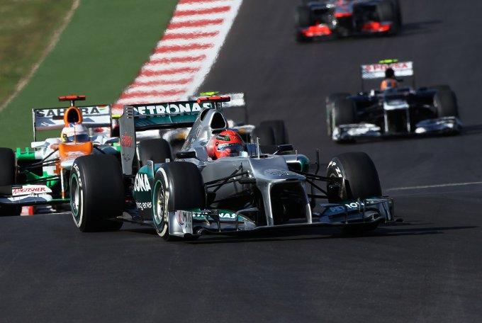 """Mercedes, Michael Schumacher: """"Non ho avuto aderenza dal mio primo set di gomme"""""""