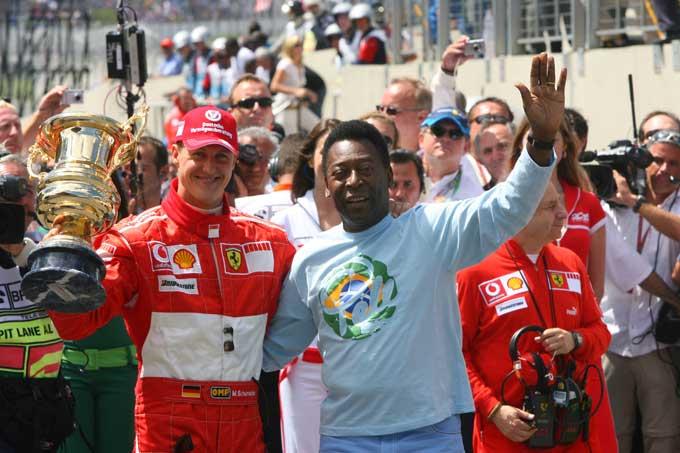 Gli organizzatori del GP Brasile preparano una celebrazione per l'ultima gara di Schumacher