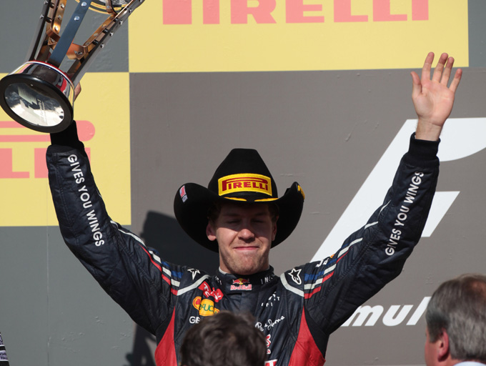 """Vettel: """"Felice per il campionato costruttori"""""""
