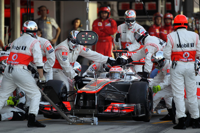 McLaren al lavoro per eseguire pitstop in due secondi