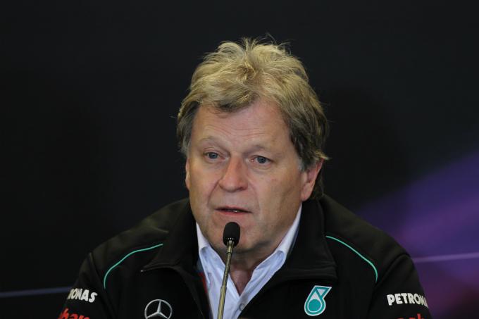 Mercedes, Norbert Haug ammette le proprie responsabilità