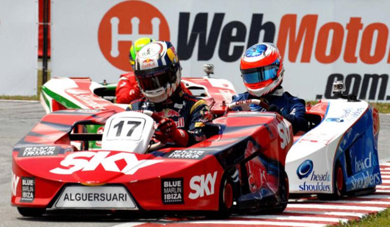Nel weekend sfida di kart in Brasile
