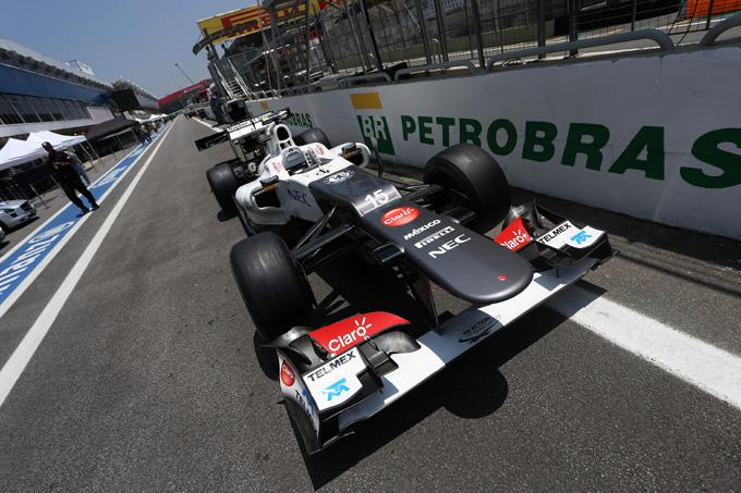 Sauber smentisce l'accordo per i motori Mercedes per il 2014