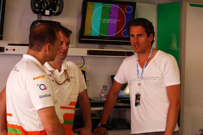Adrian Sutil crede ancora in un ritorno in F1
