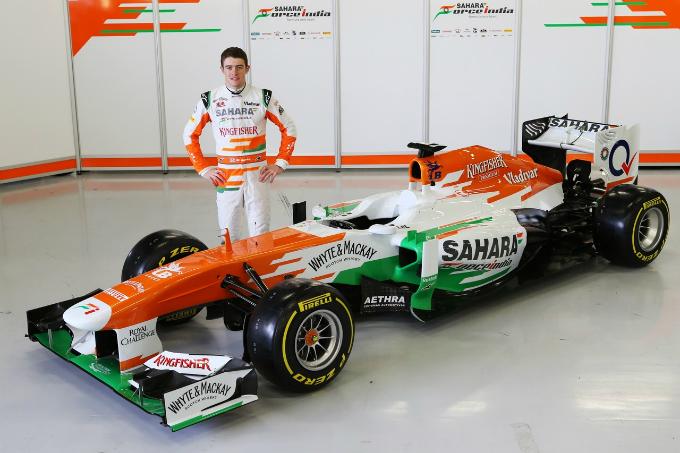 Di Resta presenta la nuova Force India VJM06
