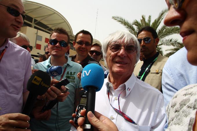 Ecclestone è sicuro che la F1 correrà in Bahrain