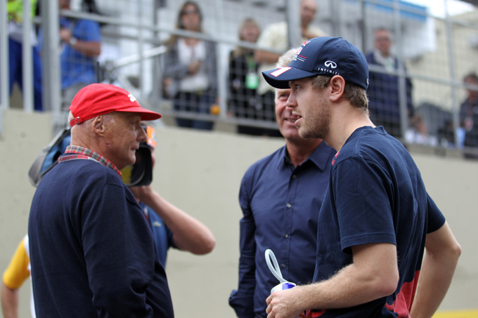 """Lauda: """"Vettel ha un contratto a lungo termine con la Red Bull"""""""