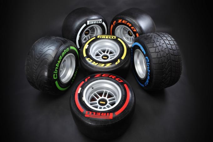 Pirelli annuncia le mescole per le prime quattro gare della stagione 2013