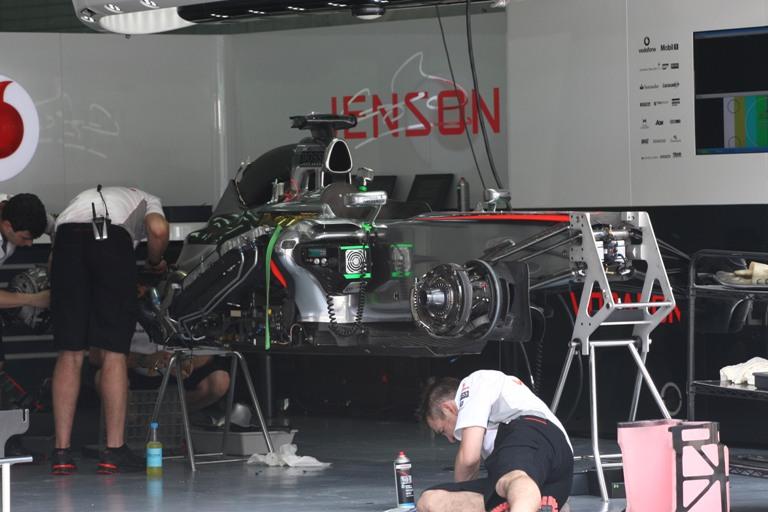 La McLaren vuole sperimentare