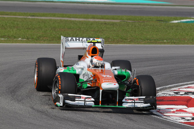 Force India: una prima giornata di prove ragionevole