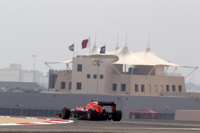 """Marussia: Bianchi, """"Ringrazio i ragazzi del pit per tutto il loro lavoro di oggi"""""""