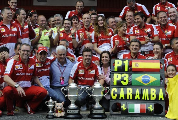 Alonso, Massa e la telefonata con il Presidente Montezemolo