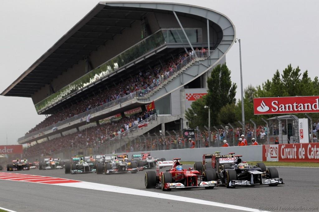 Gran Premio di Spagna 2013, Barcellona: Anteprima e orari del weekend