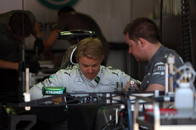 GP Monaco 2013, Prove Libere 1: Rosberg in testa precede Alonso