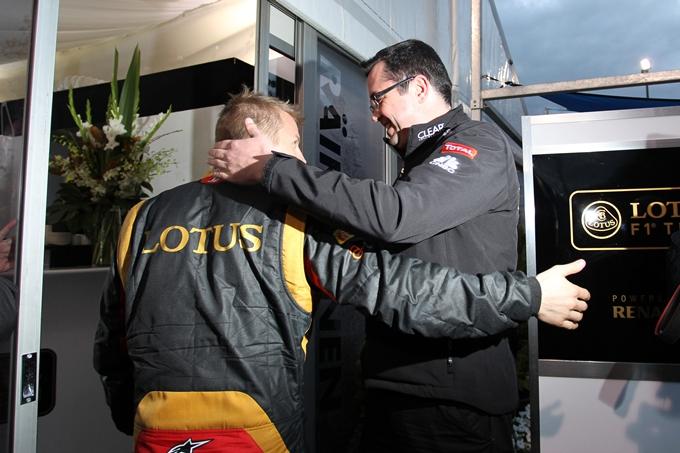 "Lotus, Boullier: ""Le gomme sono le stesse per tutti"""