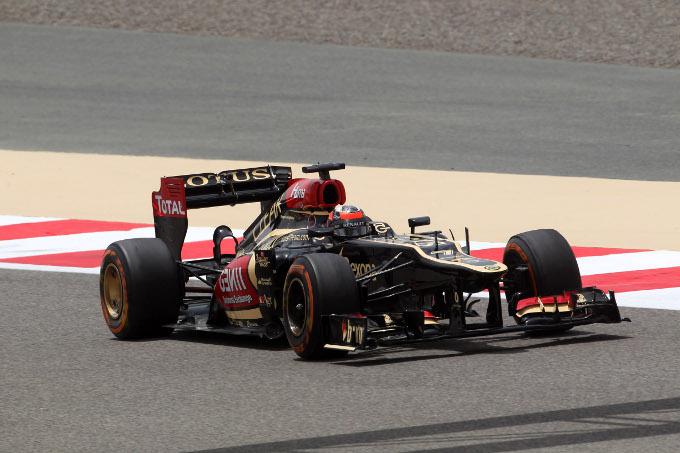 Lotus sorpresa dall'assenza delle gomme morbide in Spagna