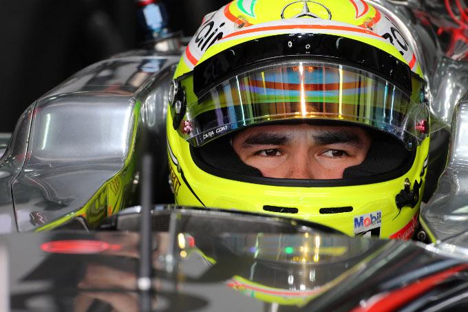 """Perez: """"Il circuito di Barcellona è un test ideale per la McLaren"""""""