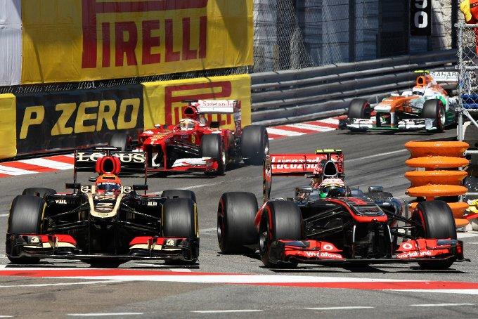Raikkonen risponde a Perez sull'incidente a Monte Carlo