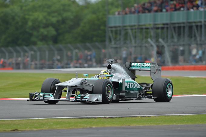 GP Gran Bretagna 2013, Rosberg in testa a caccia della Pole Position