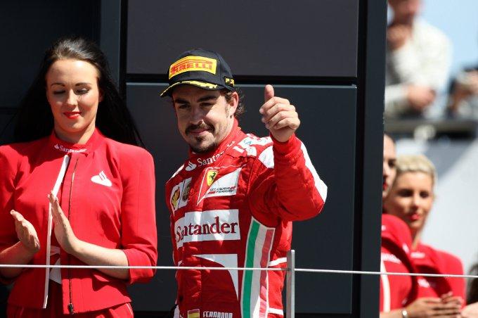 """Alonso: """"E' stata una gara molto fortunata per noi"""""""