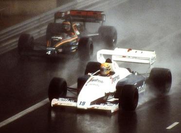 Senna vs Prost: il diluvio di Monaco '84