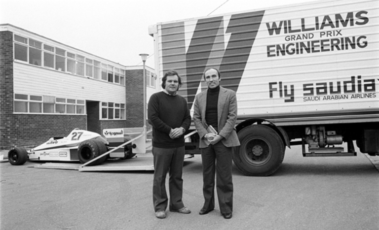 Livrea speciale per la Williams a Silverstone