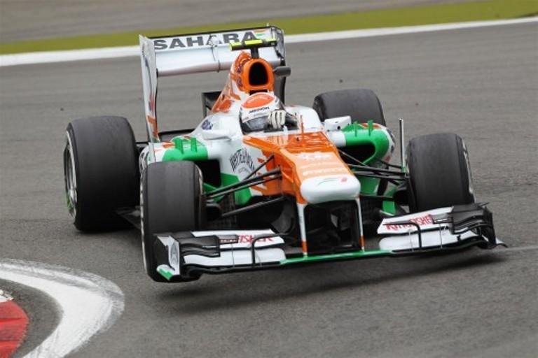 Grande lavoro sulle gomme per la Force India