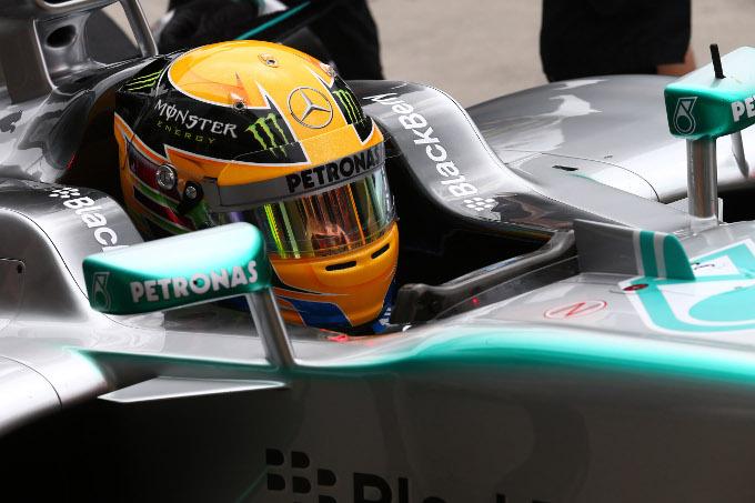 GP Germania, Prove Libere 1: dominio Mercedes, problemi per Alonso