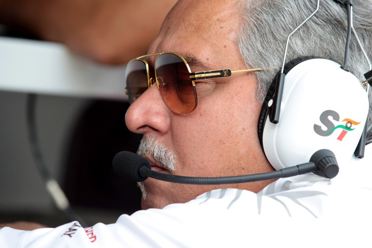 Mallya promuove la sua Force India