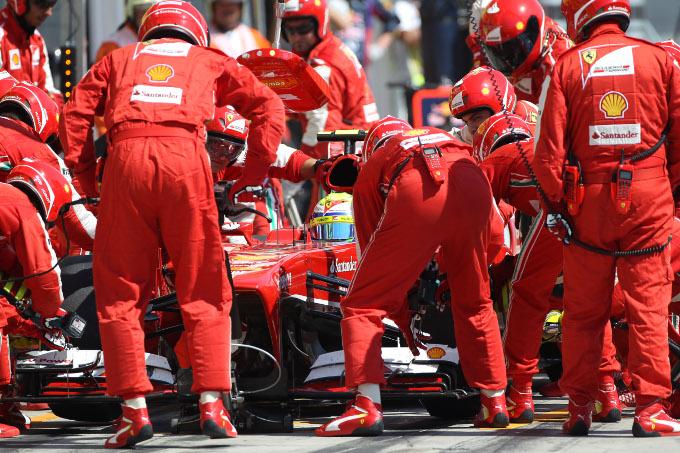 """Massa: """"Il contatto con Rosberg mi ha causato problemi di bilanciamento"""""""