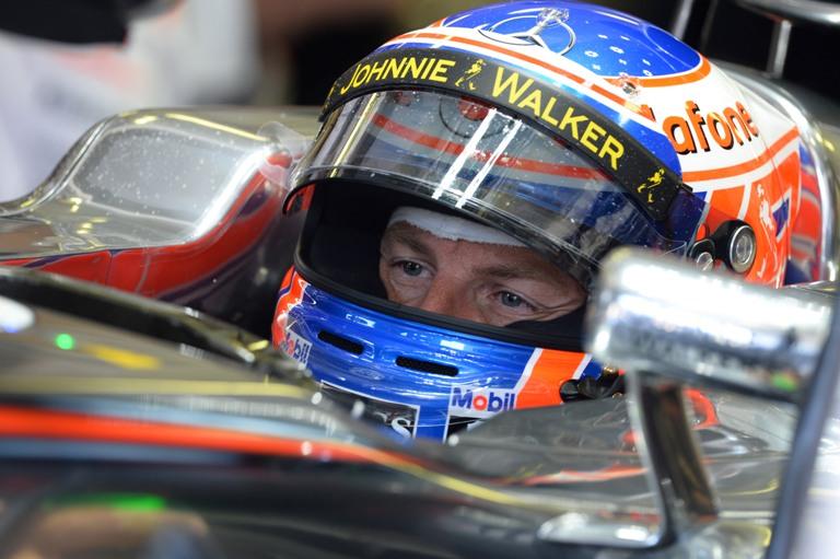 """McLaren, Button: """"Mi è sembrato di essere un bersaglio!"""""""