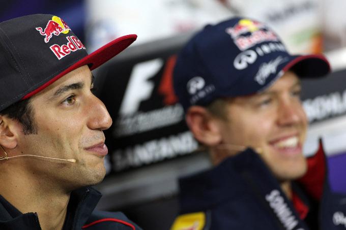 Red Bull: Ricciardo guiderà la RB9 nei test di Silverstone