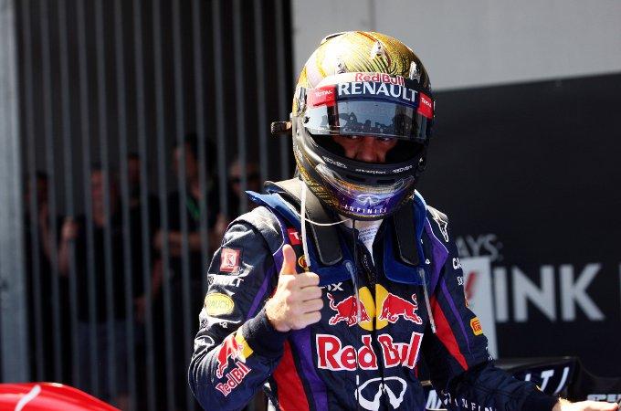 """Vettel: """"Una vittoria speciale qui al Nurburgring"""""""