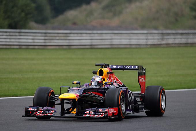 GP Belgio 2013, Prove Libere 2: dominio Red Bull