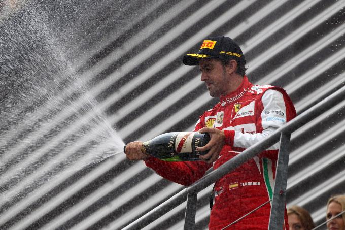 """Alonso: """"Il secondo posto a Spa è un primo passo"""""""