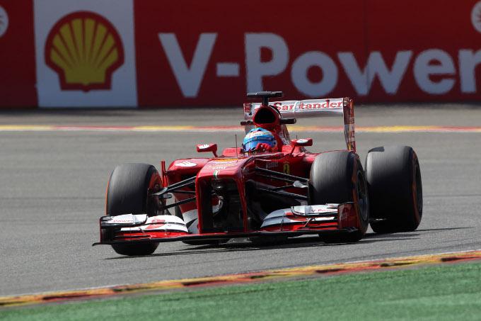 """Alonso: """"Un buon venerdì a Spa"""""""
