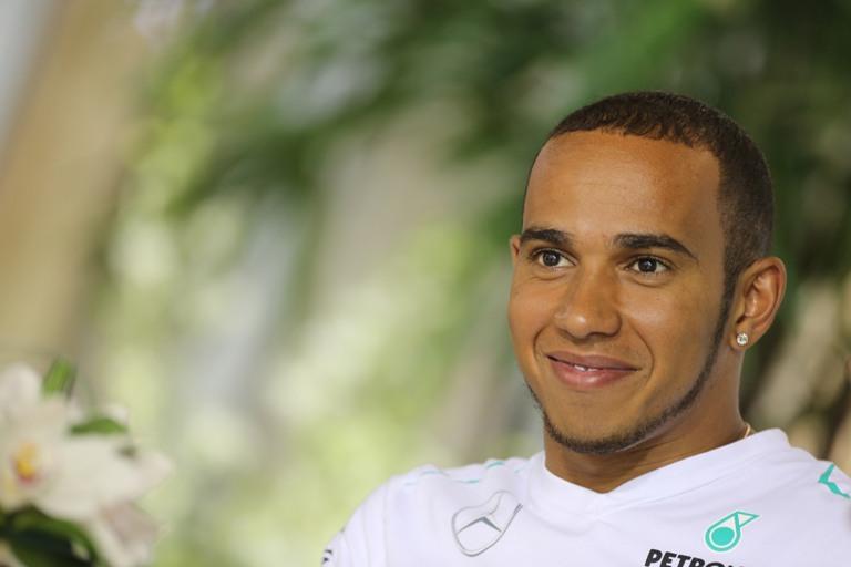 """Hamilton: """"Quella Ferrari sarà la miglior line-up del 2014"""""""
