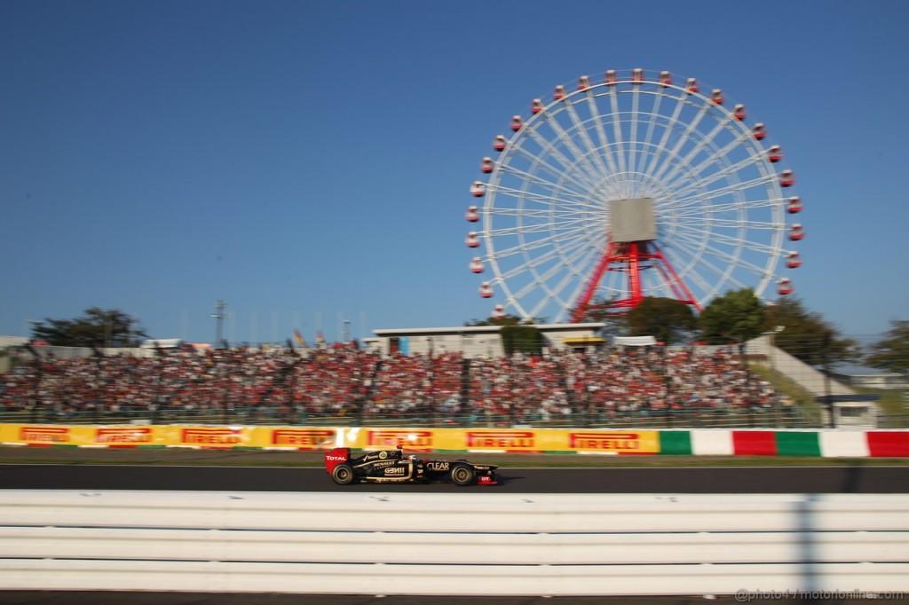 Gran Premio di Giappone 2013, Suzuka: anteprima ed orari del weekend