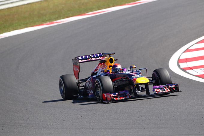 GP Corea 2013, Prove Libere 3: Vettel al comando precede Webber