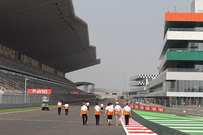 F1 GP India 2013, Prove Libere 1 in diretta