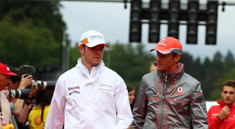 Button e Di Resta scettici sull'arrivo di Kvyat