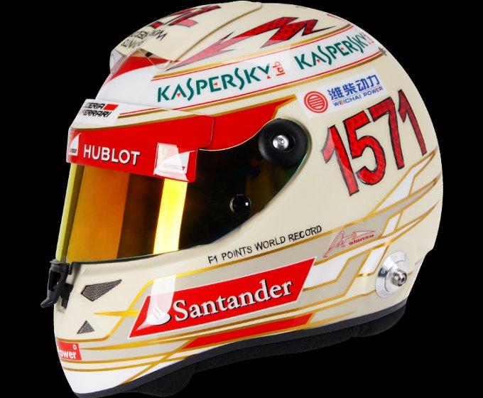 Gran Premio dell'India: Un casco da record per Alonso