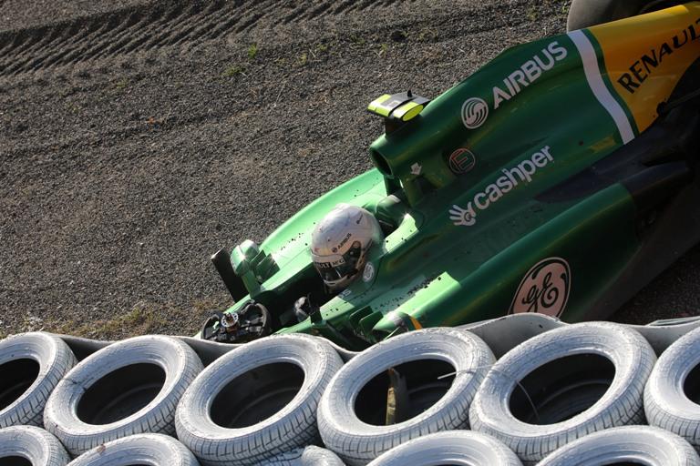 """Caterham, Van der Garde: """"Deluso, ma queste sono le gare"""""""