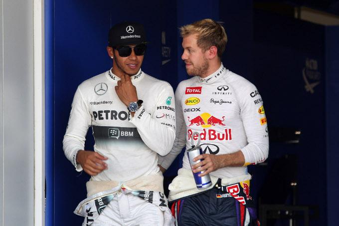 """Hamilton: """"Vettel sta entrando nei grandi della F1"""""""