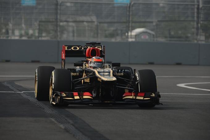 """Lotus, Raikkonen: """"Ora sentiamo bene la vettura"""""""
